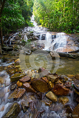 Tropical Waterfall Cascades Series 2