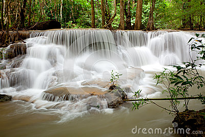Tropical Waterfall Thailand