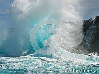 Tropical wave creates backwash explosion