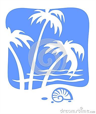 Free Tropics And Cockleshell Royalty Free Stock Photos - 2751848
