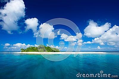 Tropikalny rajskiej wyspy