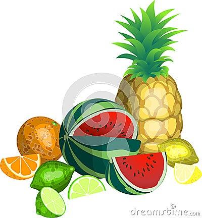 Tropisk frukt