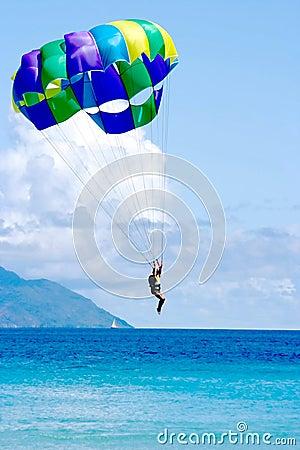 Free Tropocal Sea Vacation Landing Stock Image - 5190621