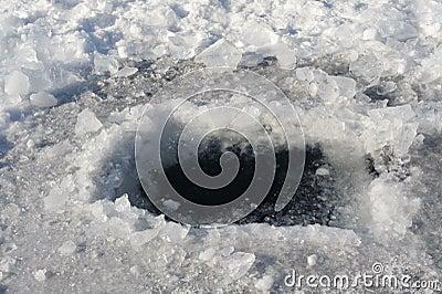 Trou de glace