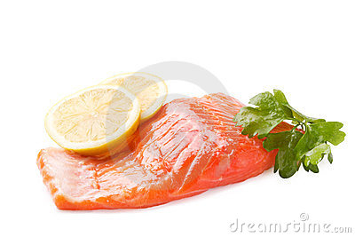 Trout steak