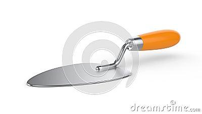 Trowel. Work tool.