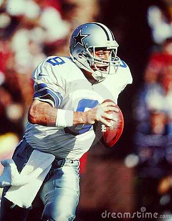 Troy Aikman Editorial Photo