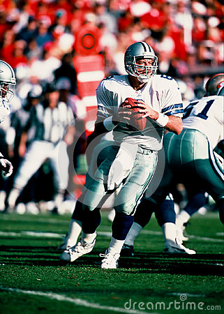 Troy Aikman Dallas Cowboys quarterback Editorial Stock Image