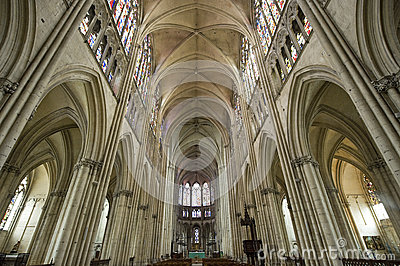 Troyes - Cathedral interior