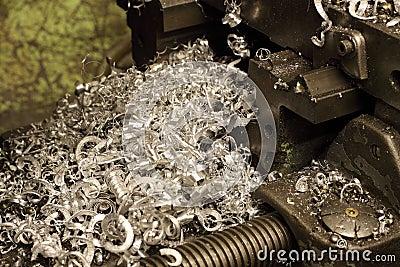 Trucioli del metallo