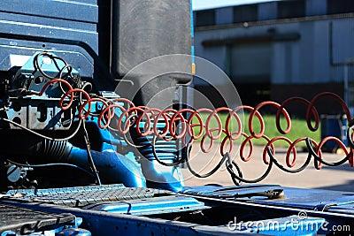 Truck air hose
