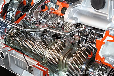 Truck automatic transmission gears