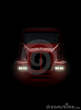Free Truck Coming Head-on Royalty Free Stock Photos - 10619488