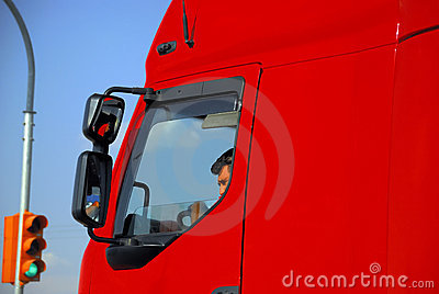 Truck Driver Editorial Image