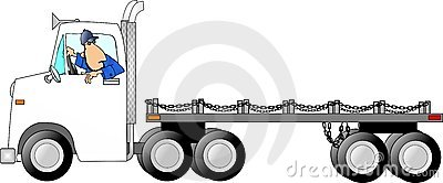 Truck drivin man