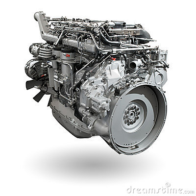 Free Truck Engine Royalty Free Stock Photography - 5020347