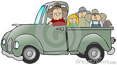 Truck Full Of Kids