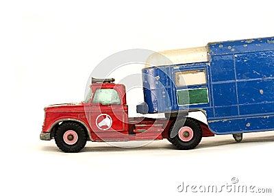 Truck for horses