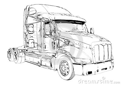 18 Wheeler Black And White Cliparts moreover File Optimus Prime patent as well How To Draw Peterbilt 379 Truck as well 1307617 additionally Royalty Free Stock Photography Truck Illustration Color Isolated Art Drawing I Traditional Artist Handmade Paper I Use Pencil Image39721777. on kenworth truck artwork