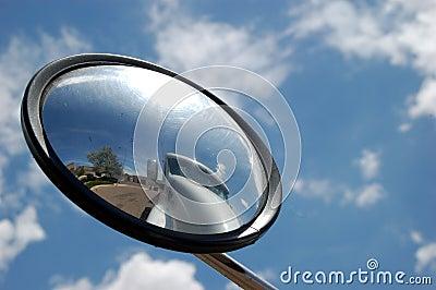 Truck in Mirror