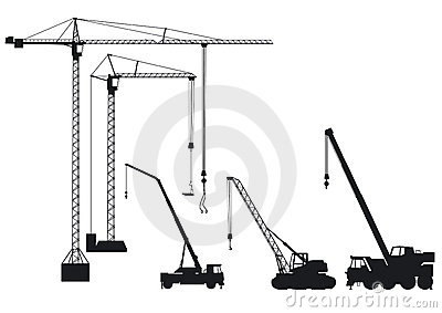 Truck-mounted crane and crane