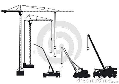 Truck-mounted crane and crane