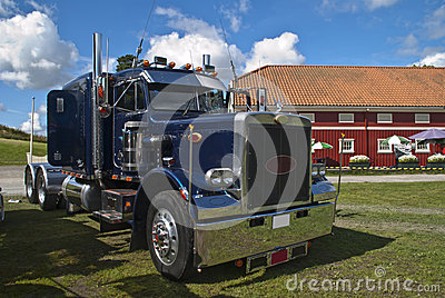 Truck (peterbilt) Editorial Stock Image