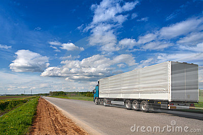 Truck road speed