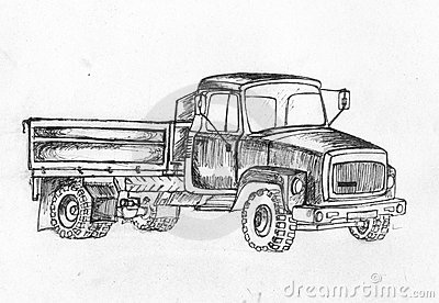Truck. Series of vehicles.
