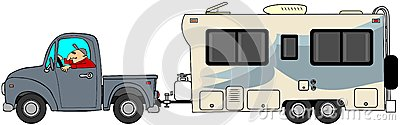 Travel Clip Art Truck – Clipart Download