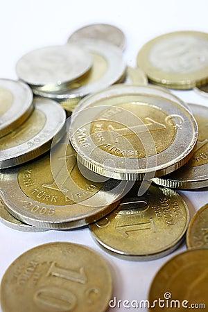 Trukish Lira coins