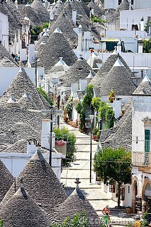 Free Trulli Aerial View, Alberobello, Italy Royalty Free Stock Photography - 6249037