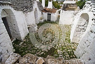 Trullo s Courtyard