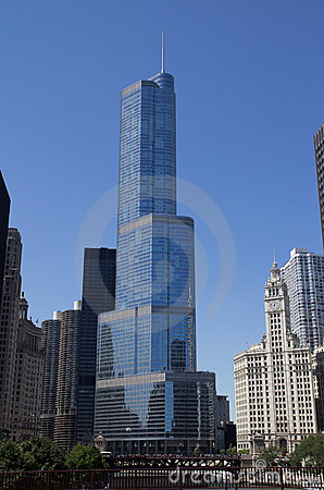 Trump Hotel Chicago Editorial Photo