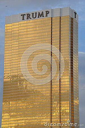 The Trump Hotel Las Vegas Editorial Photo