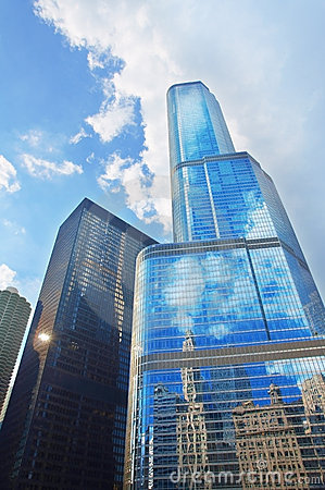 Free Trump International Hotel And Tower (Chicago) Royalty Free Stock Photography - 22459577