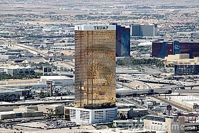 Trump International Hotel, Las Vegas Editorial Stock Photo