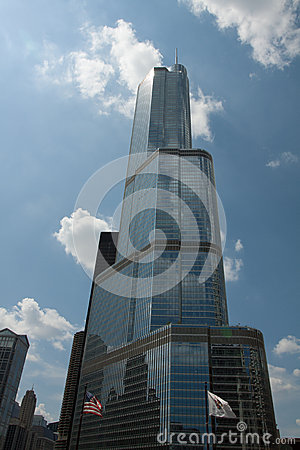 Trump International Hotel and Tower Editorial Stock Photo