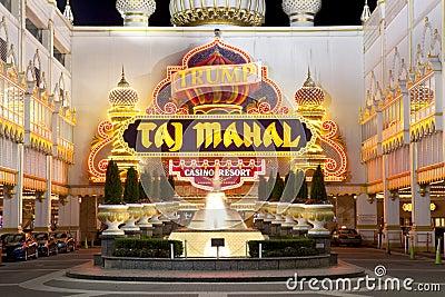 Trump taj mahal casino editorial image image 20998555 for Taj mahal online casino