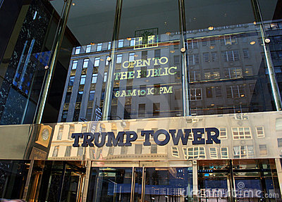 Trump Tower Editorial Image