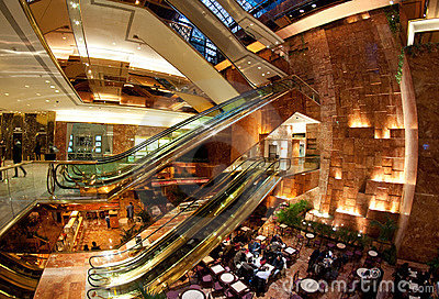 Trump Tower atrium Editorial Photo