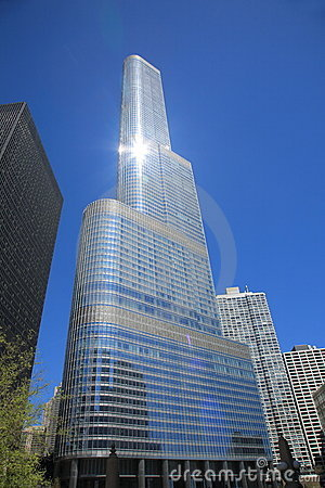 Trump Tower - Chicago Editorial Stock Photo