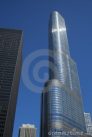Trump Tower - Chicago Editorial Photography
