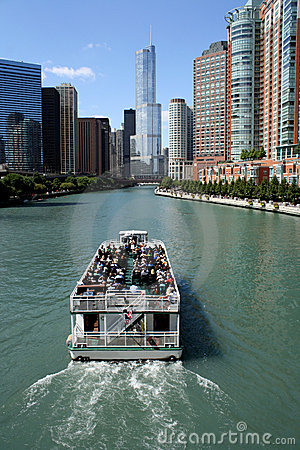 Trump Tower Chicago Editorial Stock Photo
