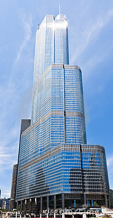 Trump Tower in Chicago Editorial Image