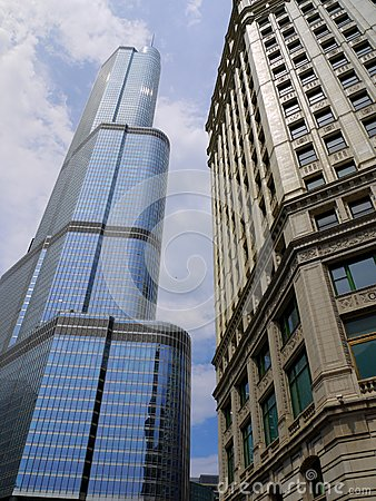 Trump Tower in Chicago, Illinois