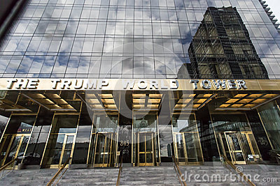 The Trump World Tower Editorial Image