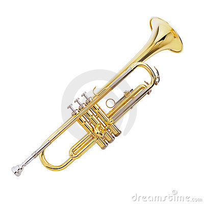 Free Trumpet Stock Image - 4274921