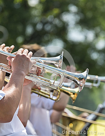 Free Trumpet Concert Royalty Free Stock Photography - 37926967