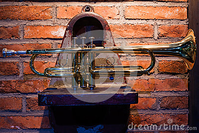 The trumpet on the mechanical parts